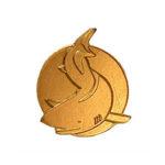 Simmärke Hajen Guld