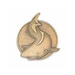 Simmärke Hajen Brons