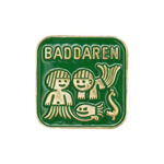 Simmärke Baddaren Grön