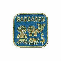 Simmärke Baddaren Blå
